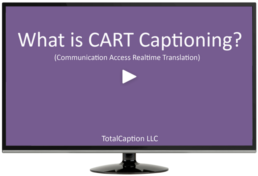 CART Captioning